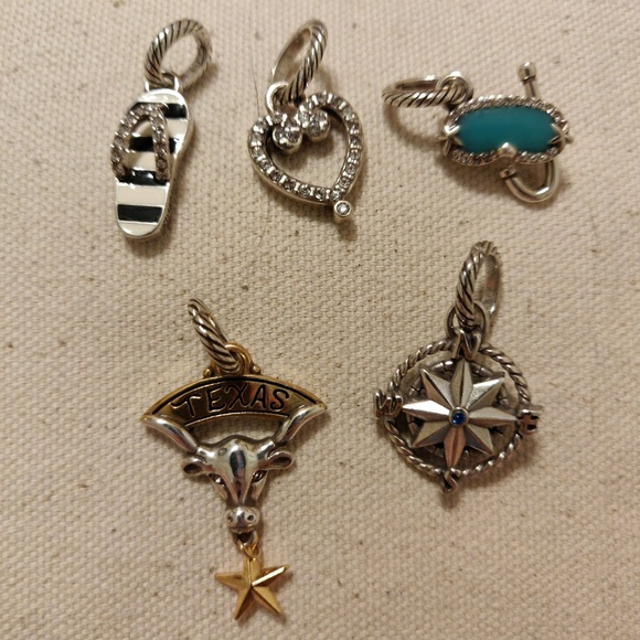 Brighton Jewelry - Brighton set of 5 Charms